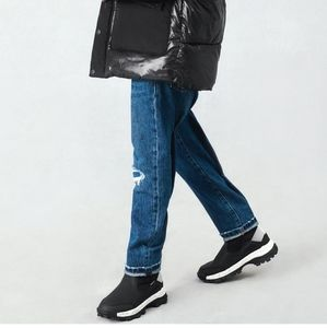 Zara Quilted High Top Chunky Track Sole Sneakers